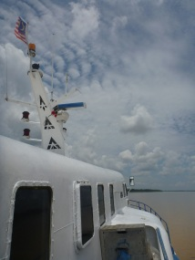the boat to kuching